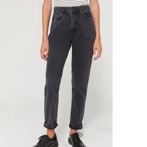 Urban Outfitters BDG washed black mom jeans